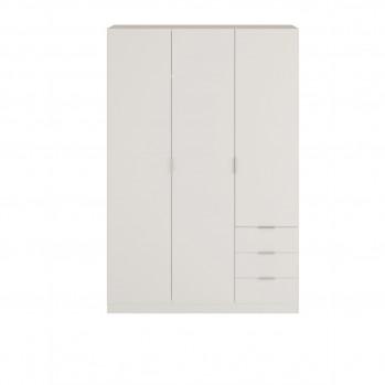 Armoire 3 portes + 3 tiroirs L121 x H180 cm