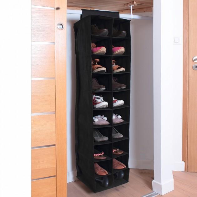 Rack 20 cases pour chaussures H130cm