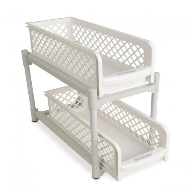 Rangement 2 tiroirs