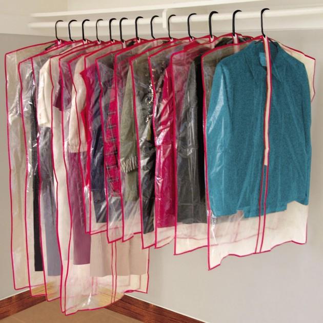 13 housses pour vêtements