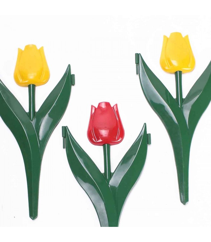 12 TULIPES DECOR BORDURES