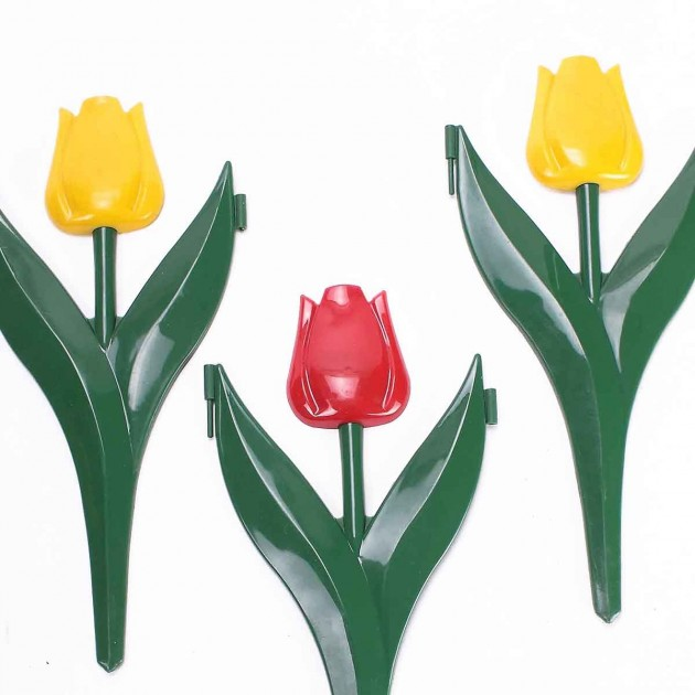 Décor bordure forme tulipe lot de 12