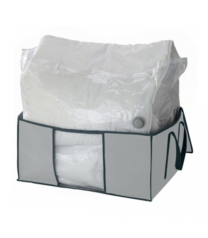 Housse sous vide + enveloppe de protection intissé gris 200L