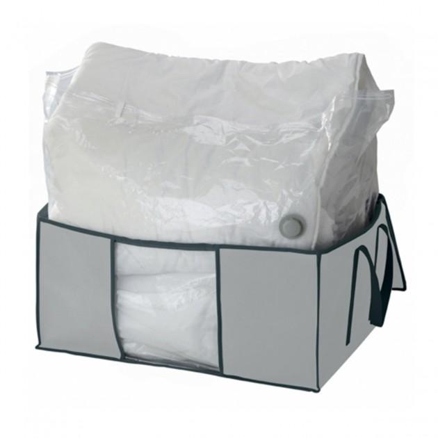 Housse sous vide avec enveloppe de protection intissé gris 200L