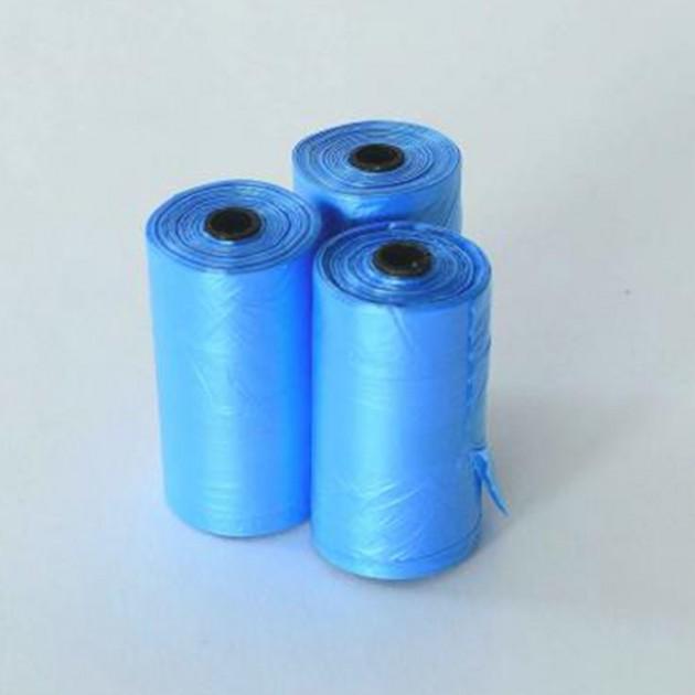 Sacs poubelles compatibles laisse rétractable -  lot de 3 rouleaux