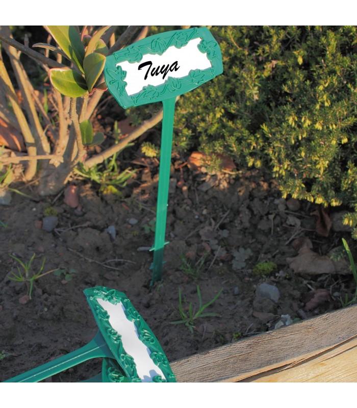 5 marque plante + étiquettes