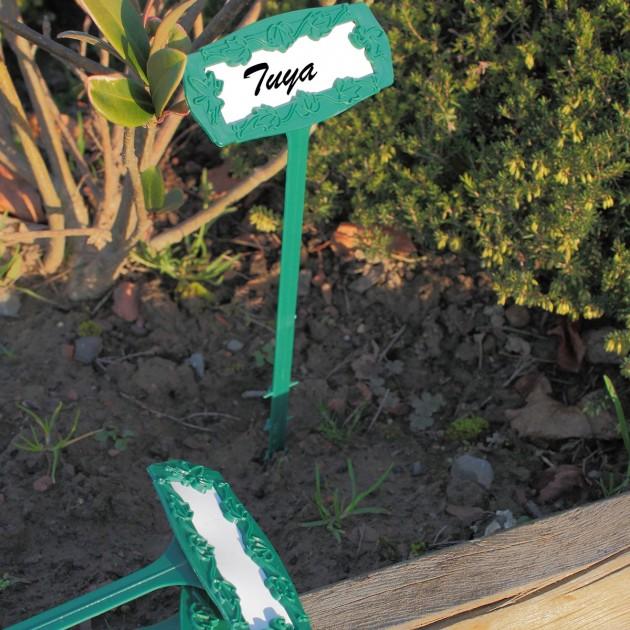 Marque plante et étiquettes - lot de 5
