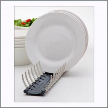 Egouttoir compact pour assiettes