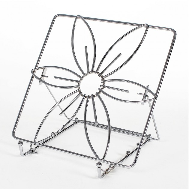 Porte livre de cuisine - design fleur
