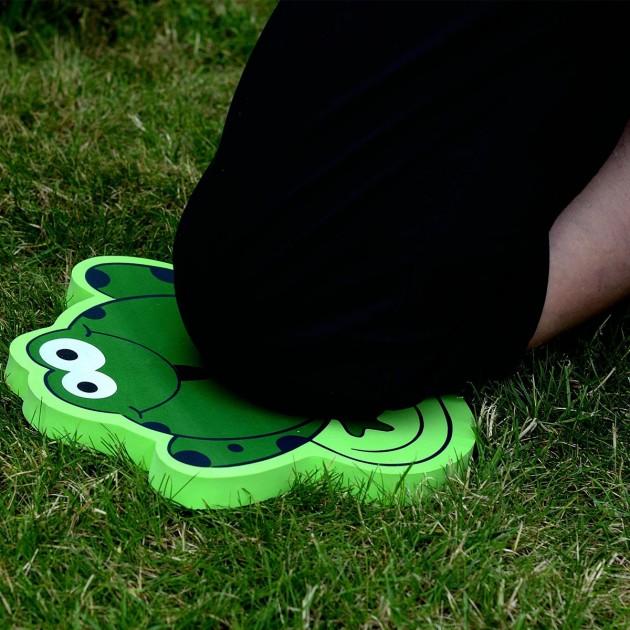 Protège genoux de jardinage forme grenouille