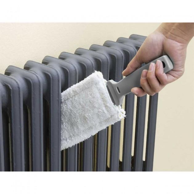 Brosse radiateur microfibre