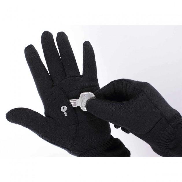 Gants microfibre poche clef