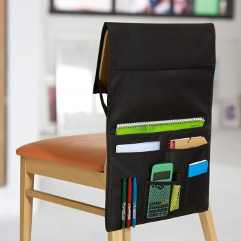 Rangement 6 poches pour dossier de chaise