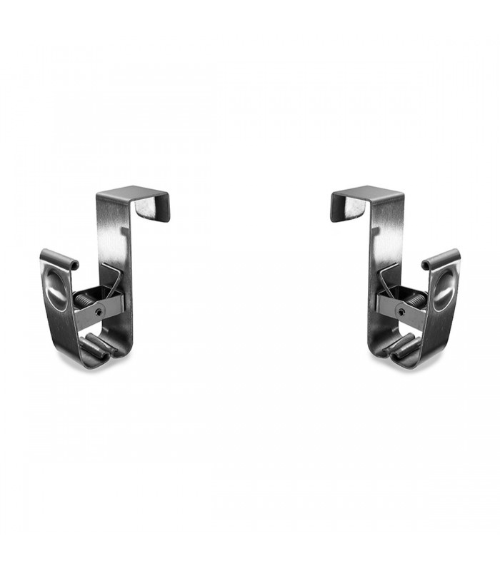 Clip inox pour tiroir - Lot de 2