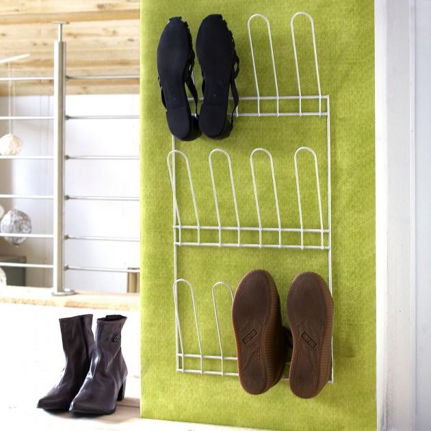 Porte chaussures à fixer 6 paires