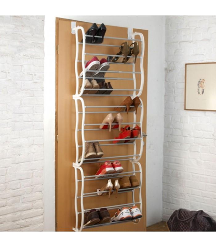 tag re chaussures sur porte 36 paires. Black Bedroom Furniture Sets. Home Design Ideas