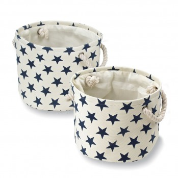 Paniers en toile - Motif Constellation