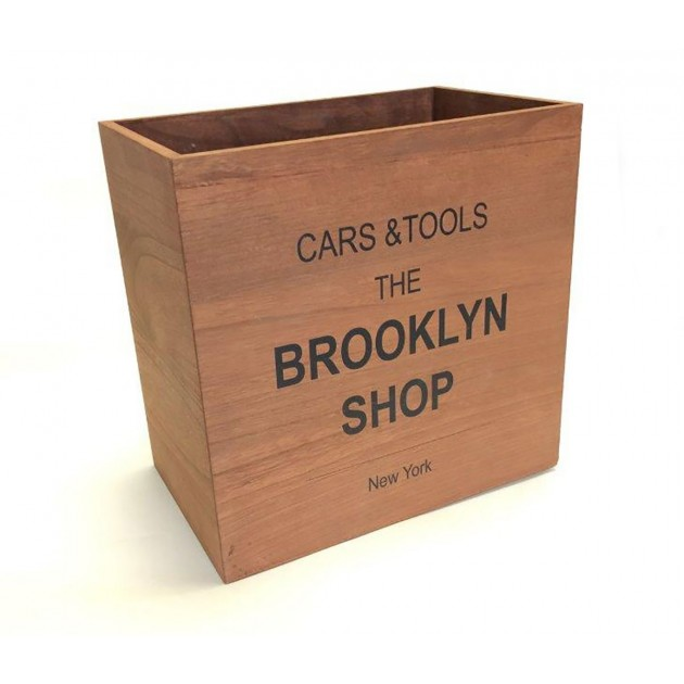 Cube en bois Brooklyn