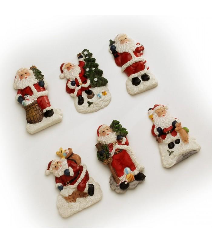 Magnets Père Noël vendus par 6