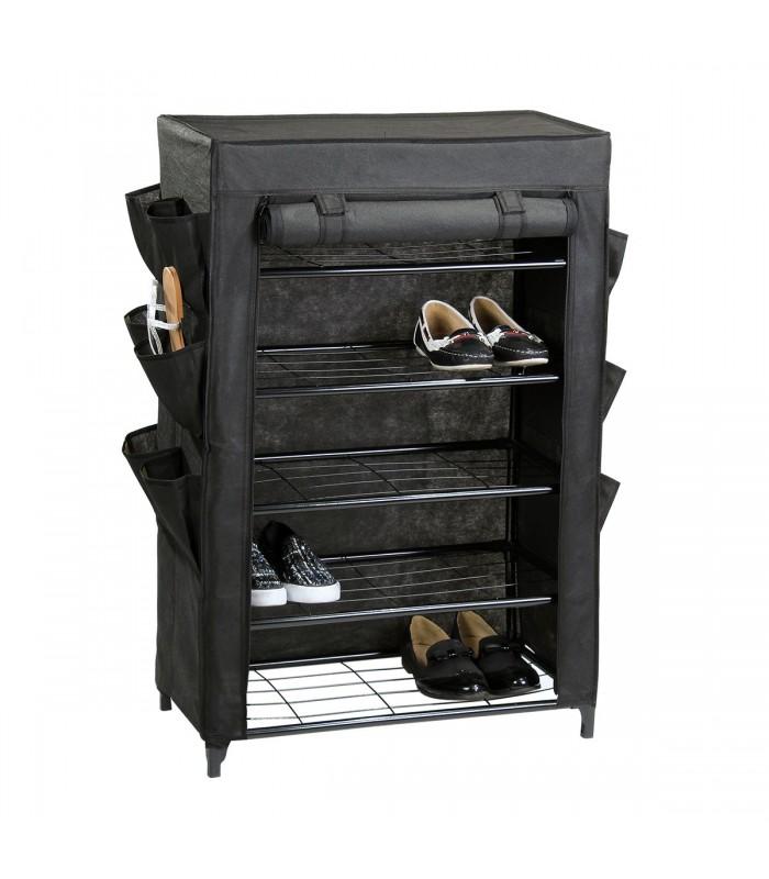 etag re range chaussure avec housse noire. Black Bedroom Furniture Sets. Home Design Ideas