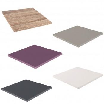 Tablette pour meuble à case avec système de fixation inclus