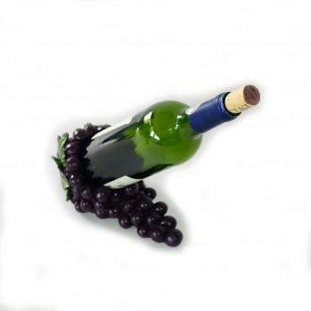 Porte bouteille forme grappe de raisin