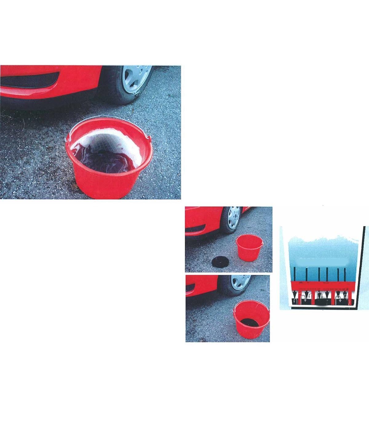 Séparateur eau propre eau sale - lot de 3