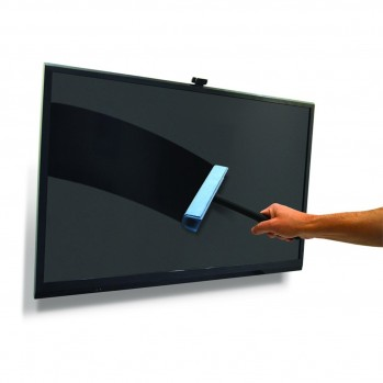 Brosse micro fibre pour grands écrans