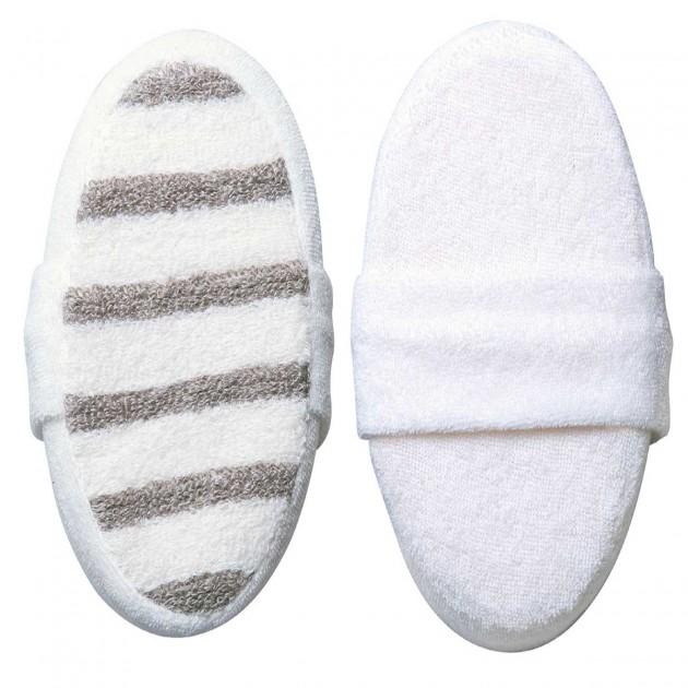 Eponge pour massage et bain