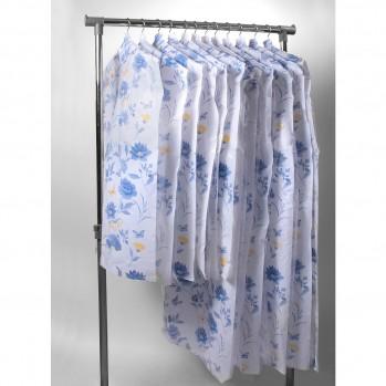 Housses de vêtement roseraie Lavande / Jaune - Lot de 12