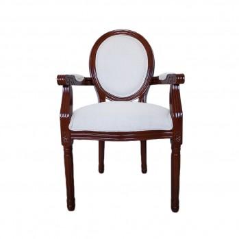 Fauteuil de salon Louis XVI bois
