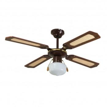 Ventilateur de plafond luminaire - 2 en 1