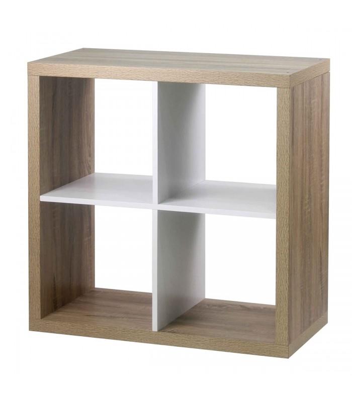 tag re 4 cases coloris ch ne int rieur blanc. Black Bedroom Furniture Sets. Home Design Ideas