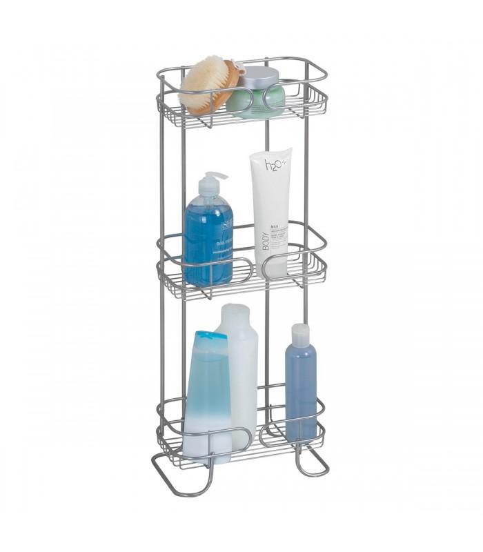Étagère trois niveaux pour salle de bain - Interdesign