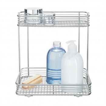 Étagère rectangulaire pour salle de bain