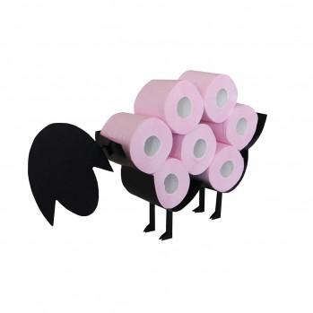 Réserve papier toilette forme mouton