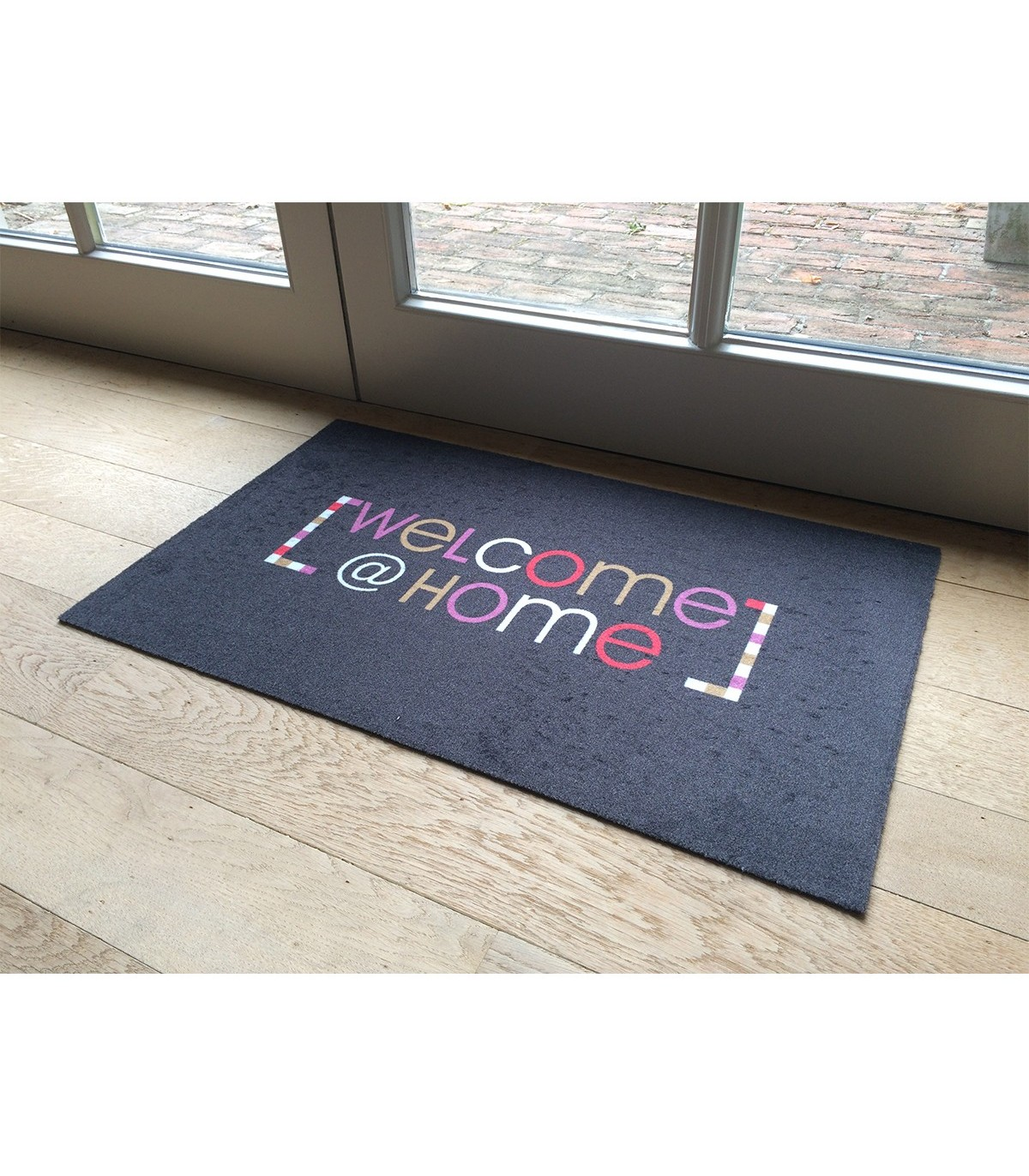Tapis D Entree Motif Welcome Home 50x80cm