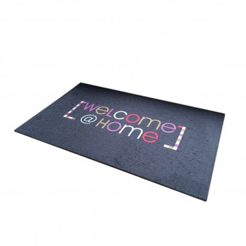 Tapis d'entrée motif Welcome@home 50x80cm