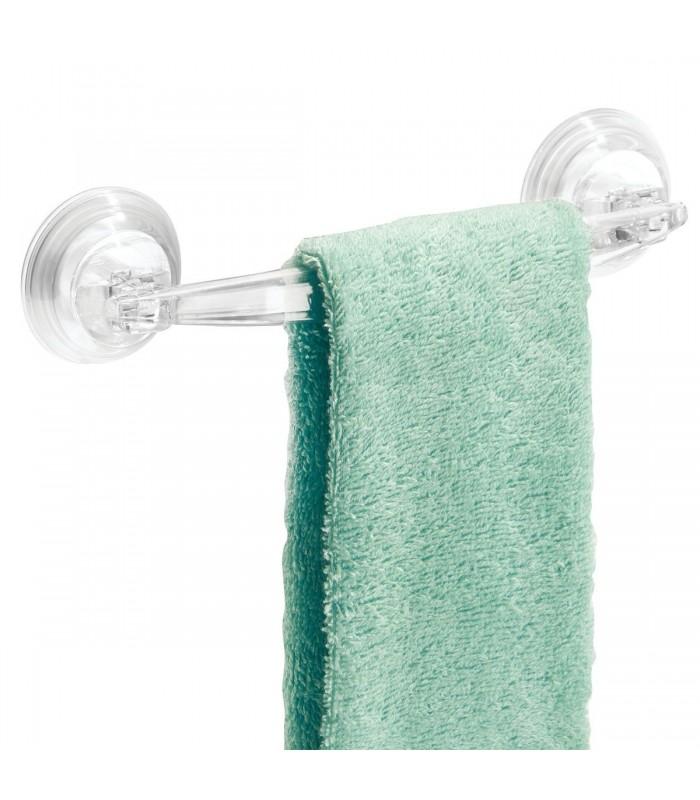 Porte-serviette avec ventouses