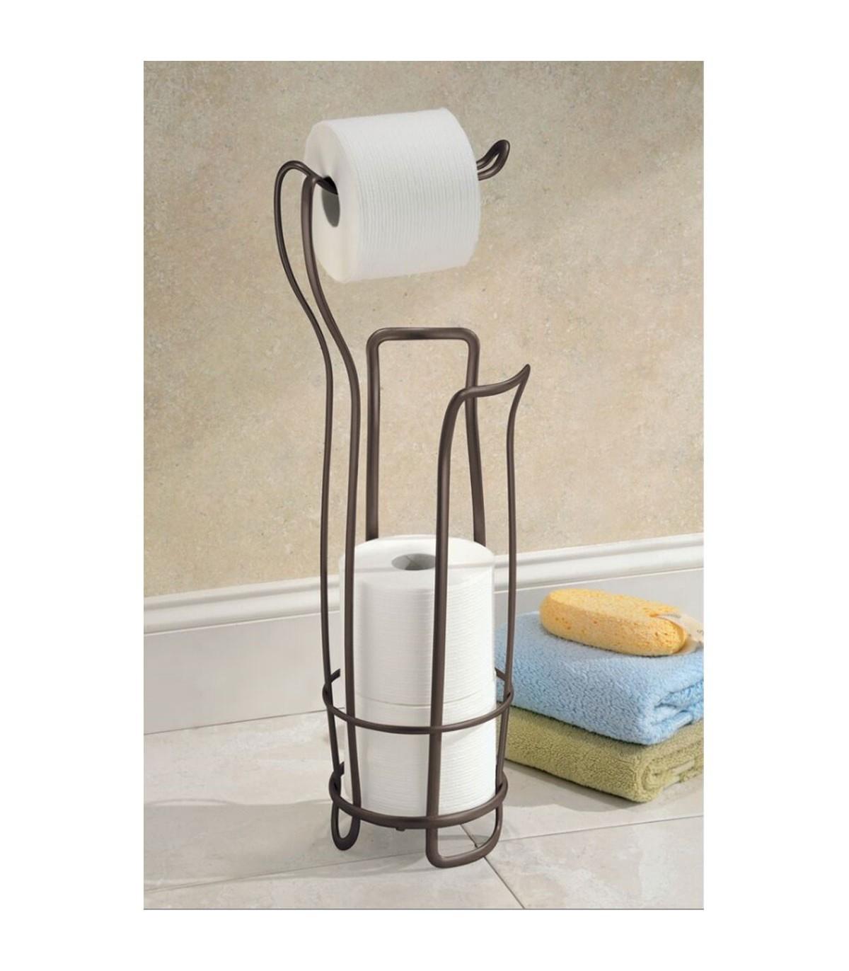 Rangement Papier Toilette Original dérouleur papier toilette en bronze