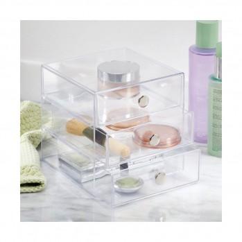 Boîte de rangement pour cosmétique 3 tiroirs