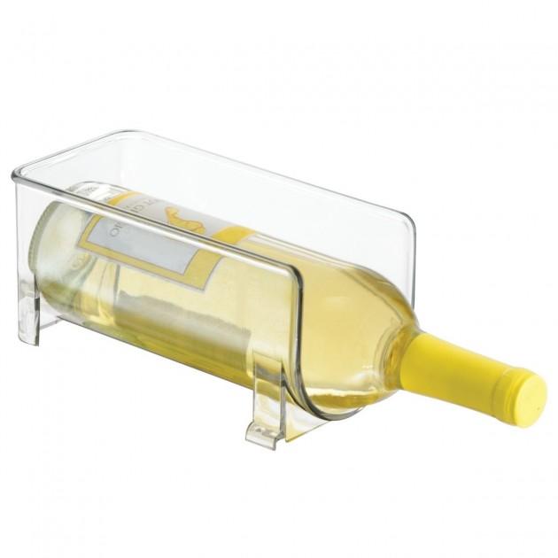 Porte bouteille de vin transparent