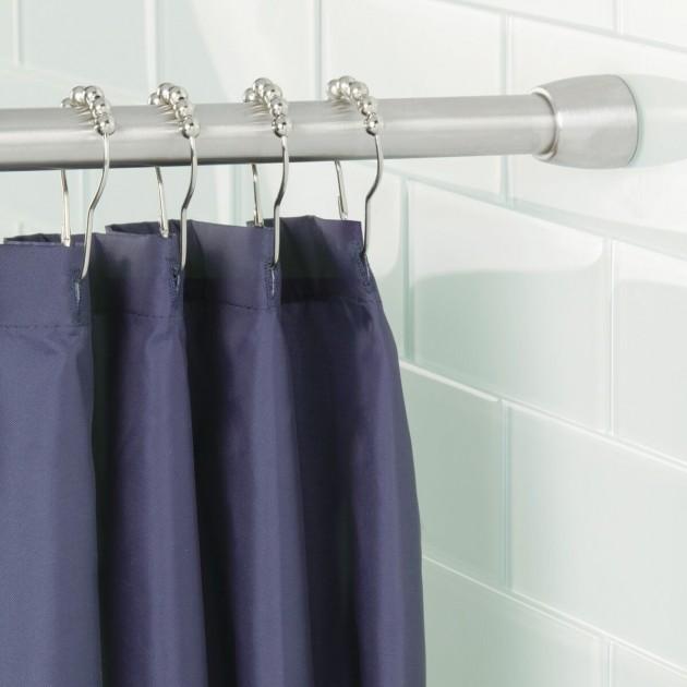 Barre pour rideau de douche 65.2 x 2.9 cm