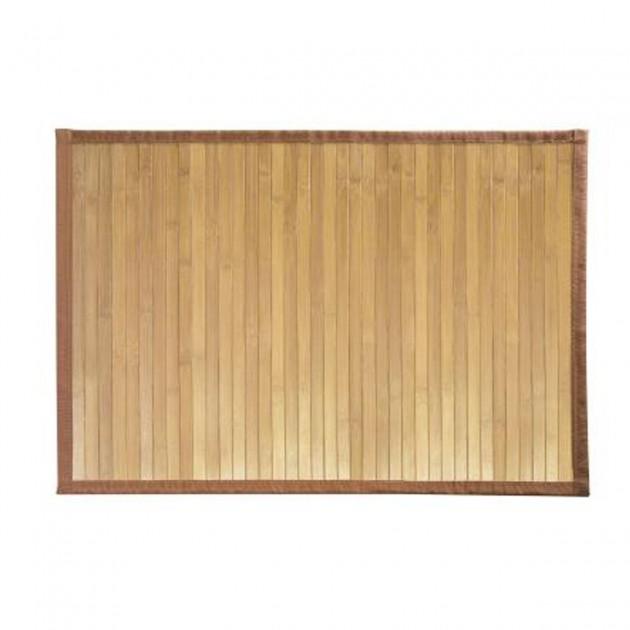 Tapis de bain en bambou 86 x 53 cm