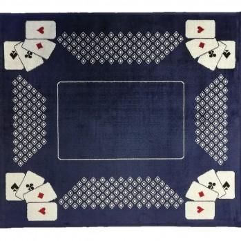 Tapis de cartes à jouer Bleu