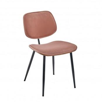 Lot de 2 chaises en velours - Olympia
